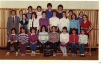 Greenwood  grade 7  Mr.  Smith  1983-84