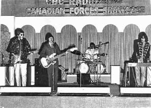 The Guess Who at Strange Hall in Shilo - 1969