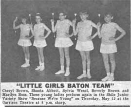 Little Girls Baton Team