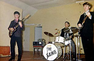 The Saints, Shilo�s first rock band at the old YPA Hall