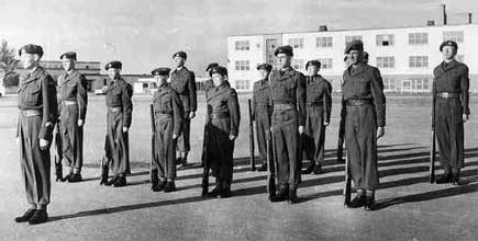 Cadets In Shilo - 1957