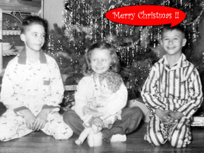 The Jenkins Kids - Christmas 1958