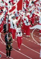 Flagbearer 1994 Commonweath Games Victoria